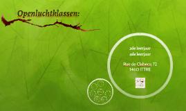 Copy of Openluchtklassen: