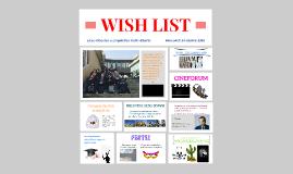Wish List presentazione