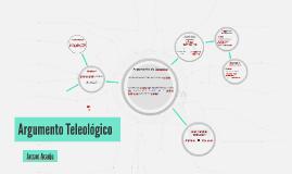 Argumento Teleológico