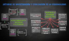 Métodos de investigación y evaluación de la personalidad