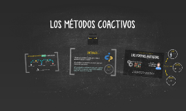 LOS MÉTODOS COACTIVOS