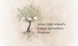 Acton High School's