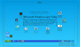Copy of Microsoft Windows 1975-today