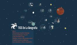 TICS en la geografía