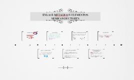 Enlace metalico y elementos semiconductores