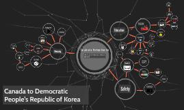 Canada to Democratic People's Republic of North Korea