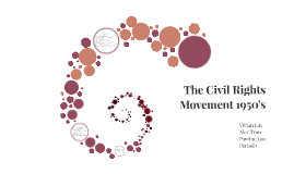 The Civil Rights Movement 1950's