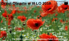 Drzwi Otwarte w III LO 2018