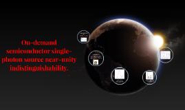 Fuente Semiconductora de Fotones Individuales en Demanda con