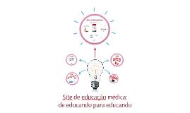 Site de educação médica: