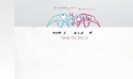 SAND OIL SPILL