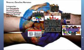 La persona y los Derechos Humanos