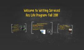 Res Life Presentation