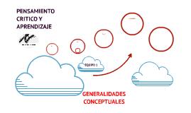 GENERALIDADES CONCEPTUALES