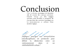 Copy of Interdisciplinarité