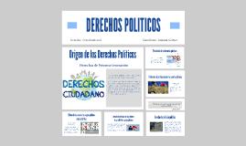 DERECHOS POLITICOS