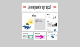 zonnepanelen project