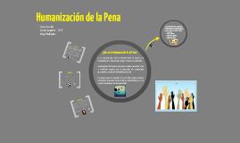 Humanización de la Pena