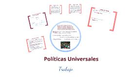 Políticas Universales Trabajo 2018 K