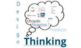 Design Thinking - Inovação na forma de pensar