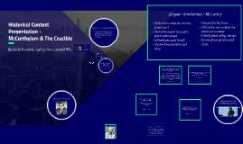 Historical Context Presentation -