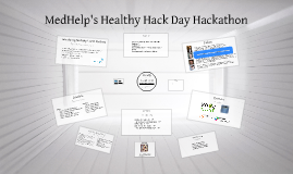 MedHelp's Healthy Hack Day Hackathon May 10-11