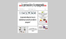 La persuasión y la propaganda