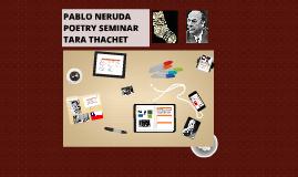 Copy of Pablo Neruda: Poetry Seminar Reach Ahead English