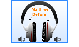 Introduce Yourself: Matthew DeTore