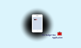The Budget Box Application