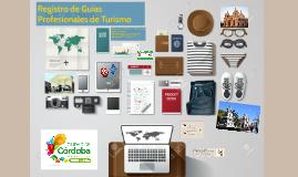 Registro de Guías Profesionales de Turismo