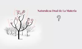 Naturaleza Dual de La Materia