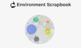 Environment Scrapbook