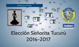 Eleccion Señorita Tucuru 2016-2017