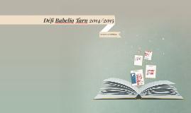 Défi Babelio Tarn 2014/2015