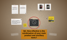 Q2. How effective is the combination of your main product an