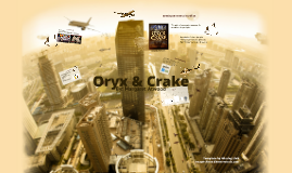 Oryx & Crake
