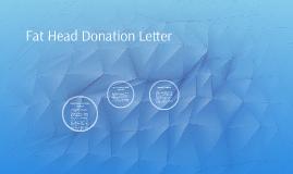 Basic Donation Letter Anatomy