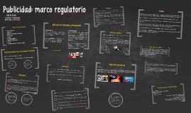 Publicidad: marco regulatorio