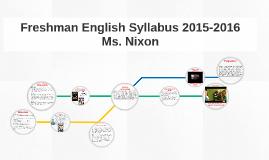 Copy of Copy of English Syllabus 2015-2016