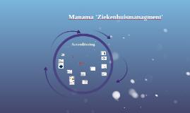 Manama 'Ziekenhuismanagment'