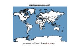 Copy of Vector world map - planisphère vectorielle
