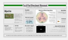 University Fossil Fuel Divestment