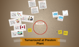 Turnaround at Preston Plant