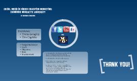 Social Media in Higher Education Marketing