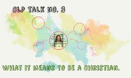 CLP Talk nO. 3
