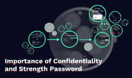 Importance of Confidentiality and Strength Password