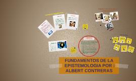 Copy of FUNDAMENTOS DE LA EPISTEMOLOGIA