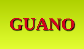 GUANO for HIS 104