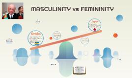 MASCULINITY vs FEMINITY